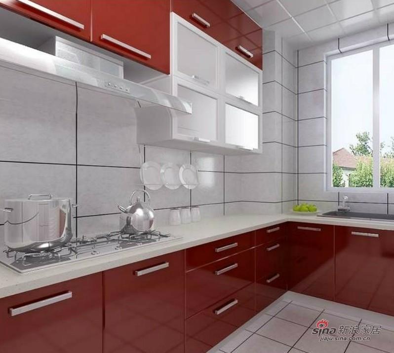 简约 二居 厨房图片来自用户2737735823在5.2万攻克86㎡简约时尚风66的分享
