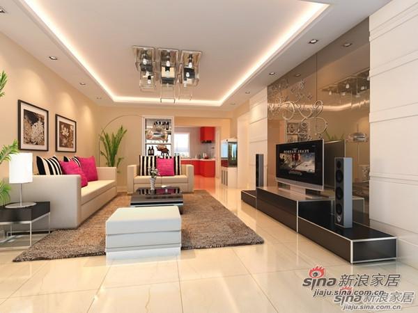 简约 复式 客厅图片来自用户2737735823在时尚la妈为把180㎡复式森林美景引入起居生活34的分享