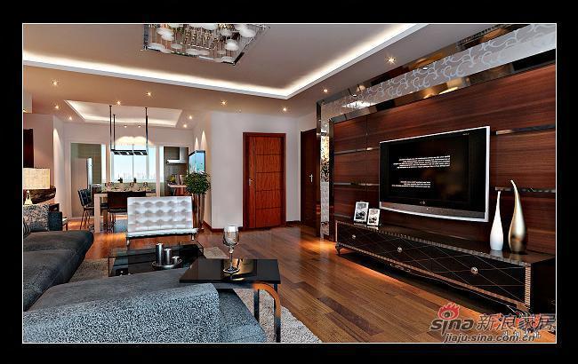 简约 三居 客厅图片来自用户2557979841在116平现代简约成功人士地中海式三居54的分享