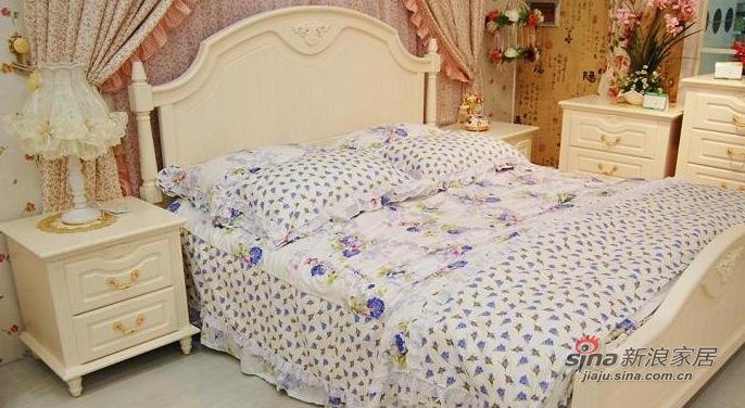 简约 三居 卧室图片来自用户2738829145在9万打造100平时尚简约三居46的分享