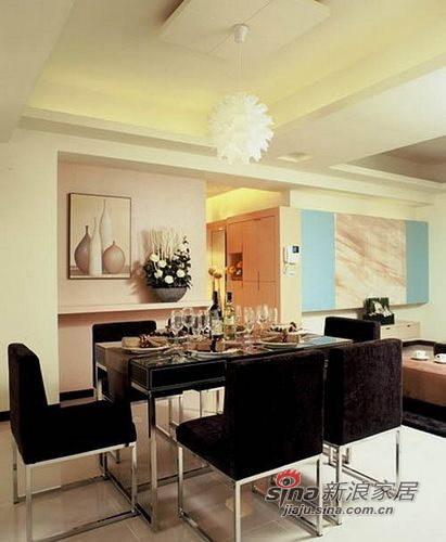 简约 三居 餐厅图片来自用户2559456651在13万装低调奢华146㎡三居75的分享