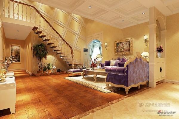 欧式 复式 客厅图片来自用户2757317061在欧式阁楼49的分享