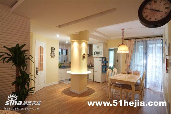 欧式 二居 餐厅图片来自用户2746953981在我家的梦幻田园SHOW24的分享