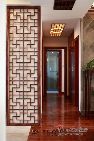 中式 二居 玄关图片来自用户1907658205在中式家迎新年打造红火年味44的分享