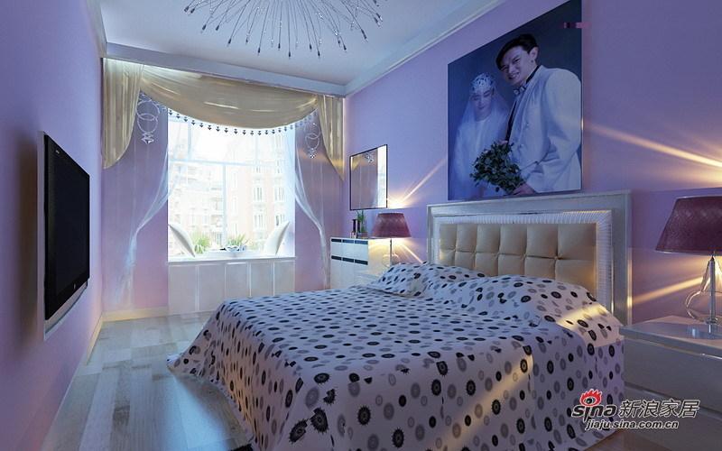 简约 二居 卧室图片来自用户2738093703在5.2万打造现代简约经典两居室56的分享