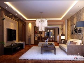 8万打造现代风格126平米高档家居22