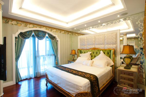 翡翠城美式风格装修|主卧室照片