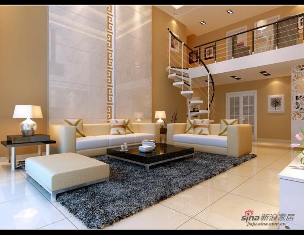 一楼客厅沙发背景墙