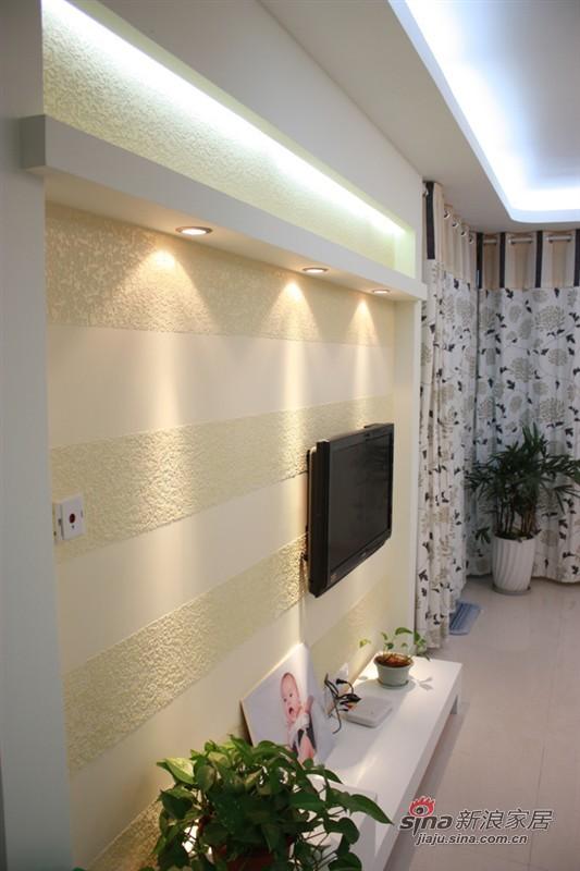 简约 二居 客厅图片来自用户2737950087在辣妈6万全包80平爱的小屋78的分享