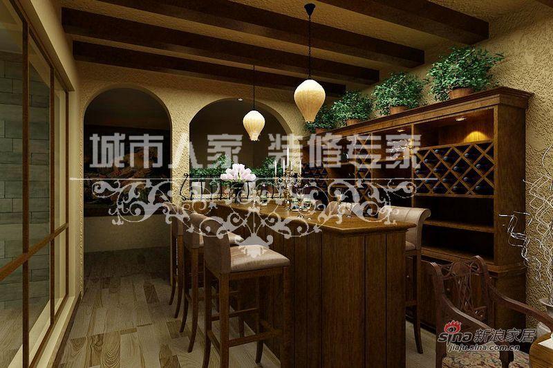 美式 别墅 餐厅图片来自用户1907685403在美式乡村别墅案例赏析35的分享