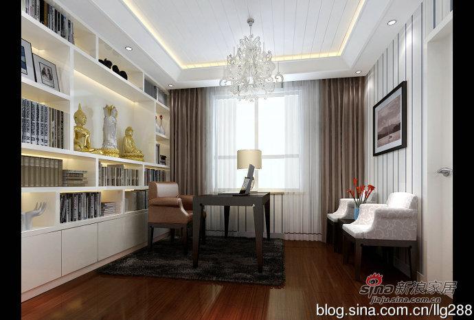 混搭 三居 书房图片来自用户1907691673在欧式与现代的完美结合168平三居室63的分享
