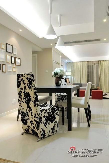 简约 二居 餐厅图片来自用户2737735823在中年男7万自装完美2居房89的分享