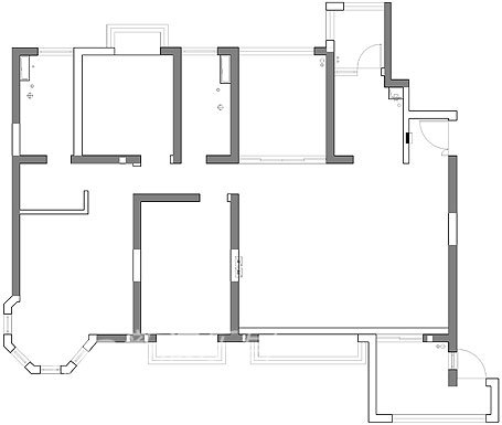 简约 别墅 客厅图片来自用户2738829145在中海湖滨一号82的分享
