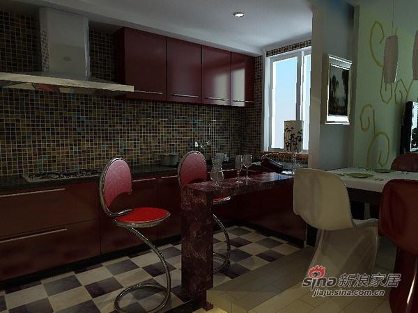 简约 二居 厨房图片来自用户2737950087在75平米蜗居大变身71的分享