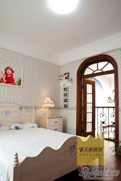 美式 别墅 卧室图片来自用户1907685403在顺义联排别墅91的分享