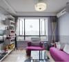 宝华现代城 两室两厅 简约设计