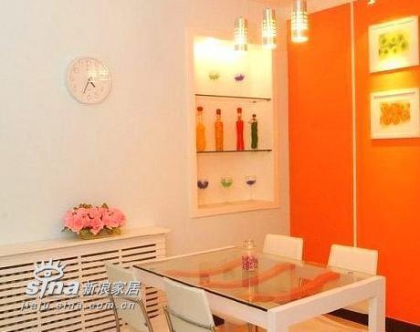 简约 三居 餐厅图片来自用户2737782783在120平3室2厅完美家居84的分享