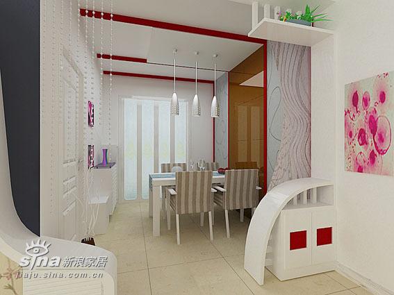 简约 三居 餐厅图片来自用户2738093703在太原市警苑三室40的分享