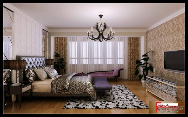 温歌华森林别墅-卧室