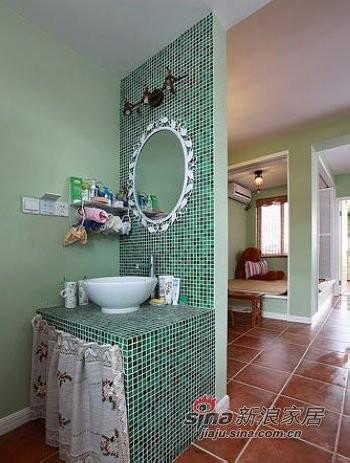 混搭 一居 卫生间图片来自用户1907691673在50平老房华丽惊变两房两厅10的分享