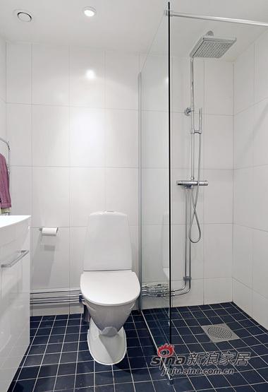 简约 一居 卫生间图片来自用户2737759857在白领女4万巧装49平1居一体式单身公寓70的分享