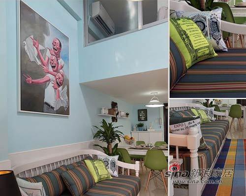 地中海 一居 客厅图片来自用户2756243717在41平撞色超小户搭建80平清爽家效果31的分享