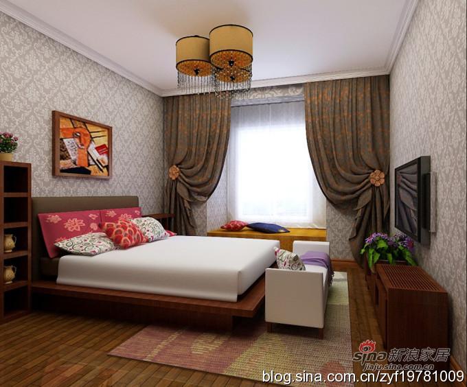 其他 二居 卧室图片来自用户2737948467在6.8万打造82平2居东南亚风格17的分享