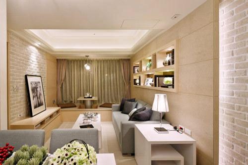 简约 二居 客厅图片来自用户2557010253在5万装扮东泽园温馨舒适两居室28的分享