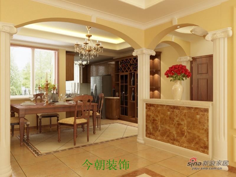 欧式 四居 餐厅图片来自用户2746953981在简欧的家舒适的家52的分享