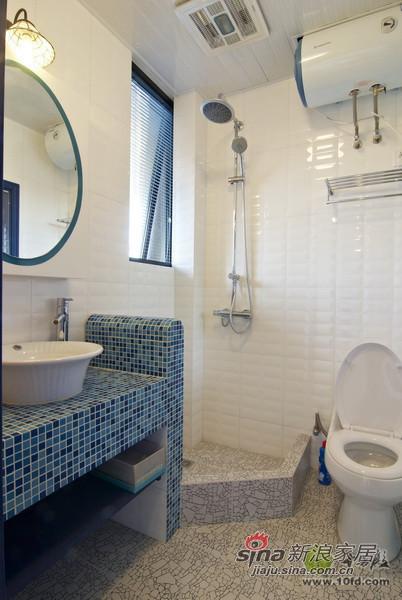 8.5万打造160平地中海风格清新小别墅