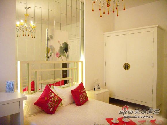 中式 二居 卧室图片来自用户1907661335在喜迎新春 90平略施粉黛中式格调家80的分享