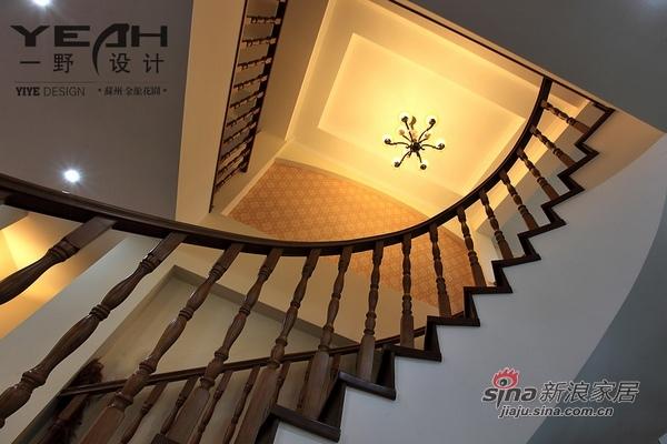 欧式 别墅 楼梯图片来自用户2772873991在240平古典别墅睡美人童话55的分享