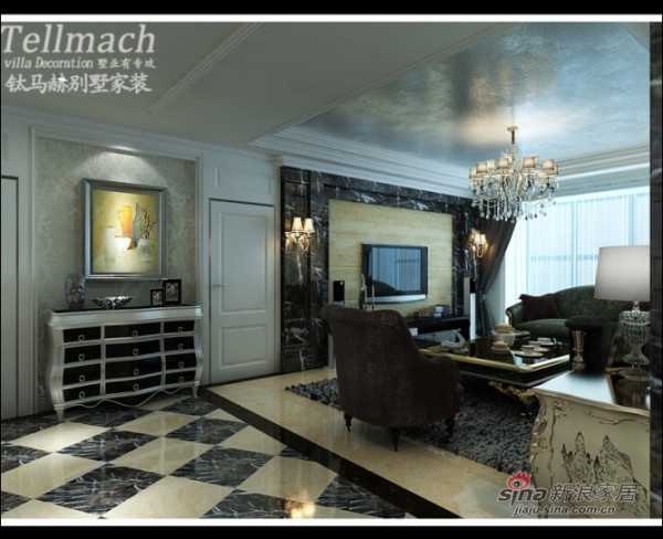 客厅影视墙设计