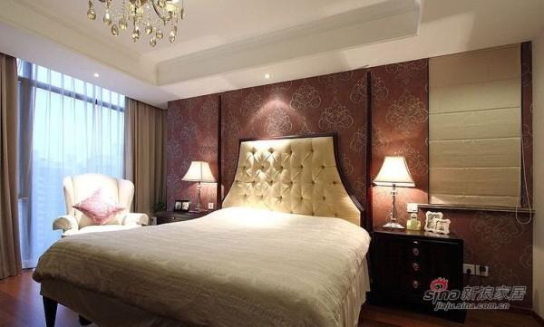 欧式 三居 卧室图片来自用户2746869241在校花酷爱100平素雅简欧新居75的分享
