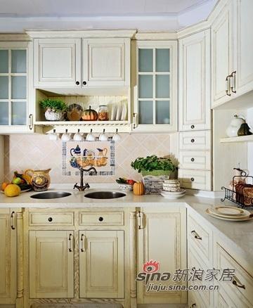 混搭 三居 厨房图片来自用户1907655435在120平欧式复古混搭小户型公寓71的分享
