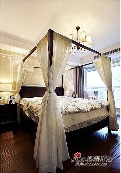 120平简约式休闲主卧室