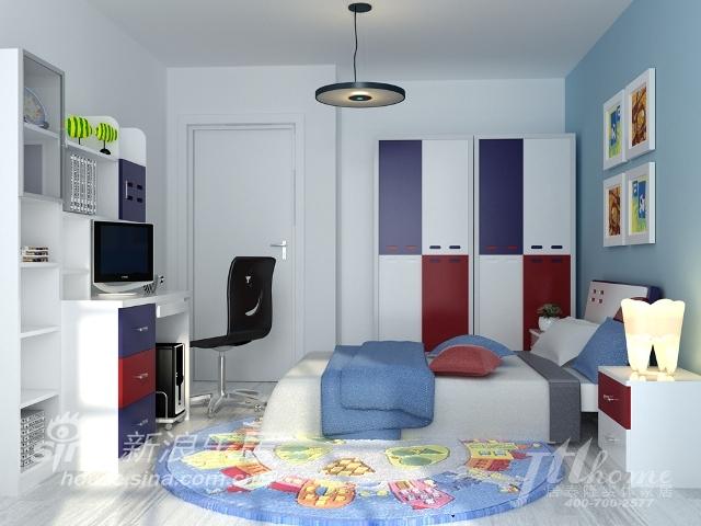 简约 三居 儿童房图片来自用户2737759857在雅致风尚的典型的现代简约风格87的分享