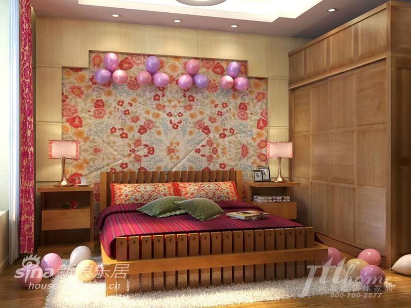 简约 三居 卧室图片来自用户2737759857在充满喜庆的婚房41的分享