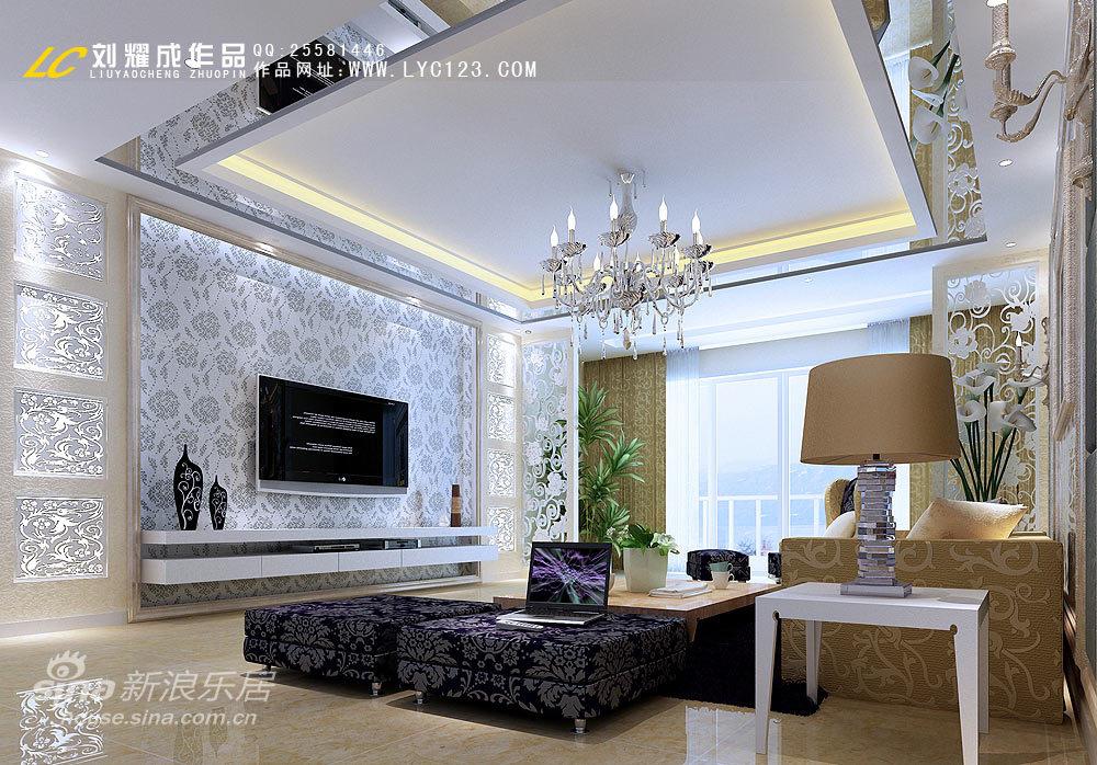 简约 四居 客厅图片来自用户2737782783在<<遐想>>-----又见低调奢华59的分享