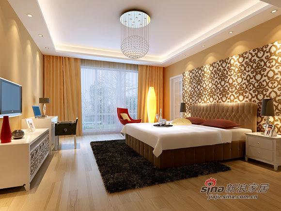 简约 四居 卧室图片来自用户2556216825在现代简约风打造170平跃层38的分享