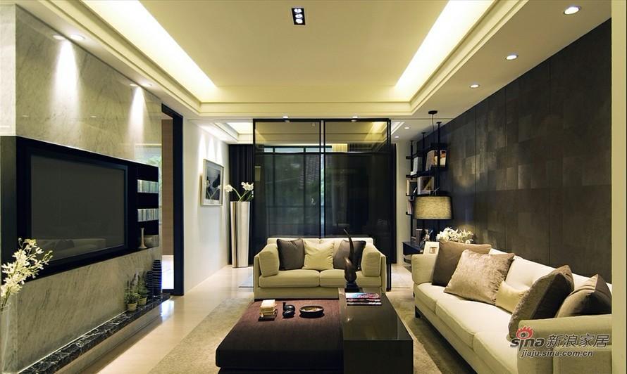 简约 三居 客厅图片来自用户2738829145在6.8万装117平静谧简约3居87的分享