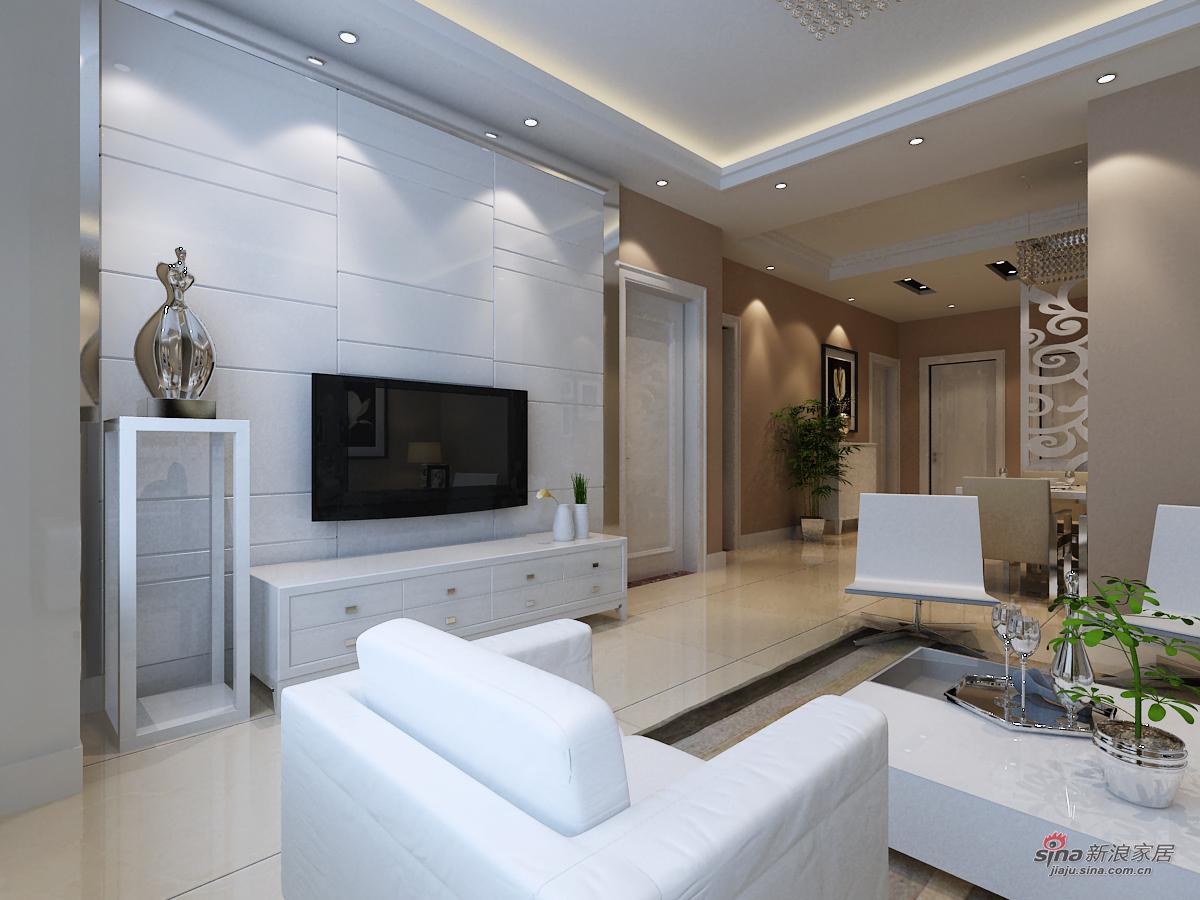 简约 二居 客厅图片来自用户2745807237在现代简约风格49的分享
