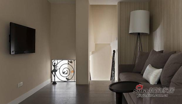 美式 复式 客厅图片来自佰辰生活装饰在17万打造165平时髦美式三口之家68的分享