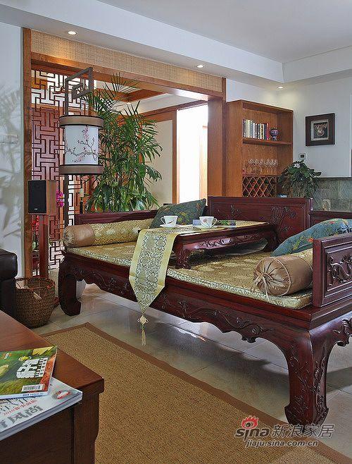 中式 四居 客厅图片来自用户1907661335在【多图】240平米大宅中式风情91的分享