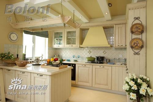 欧式 别墅 厨房图片来自用户2746948411在天鹅堡别墅照片36的分享