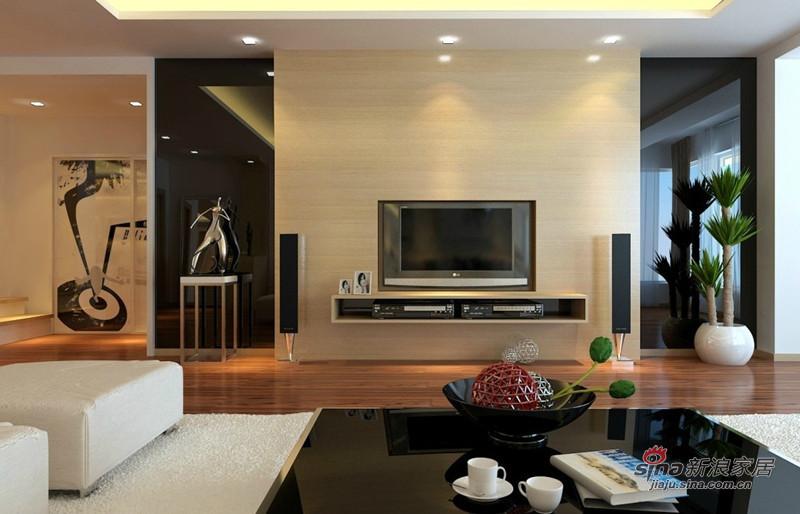 简约 二居 客厅图片来自用户2739153147在时尚简约2居室 唯美的细节处理86的分享