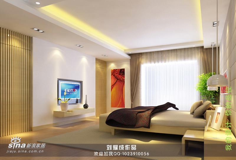 简约 别墅 卧室图片来自用户2557010253在空间生华49的分享