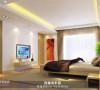 简洁明亮的主卧室