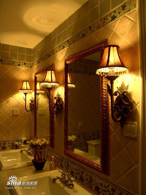 欧式 别墅 卫生间图片来自用户2746953981在新古典30的分享
