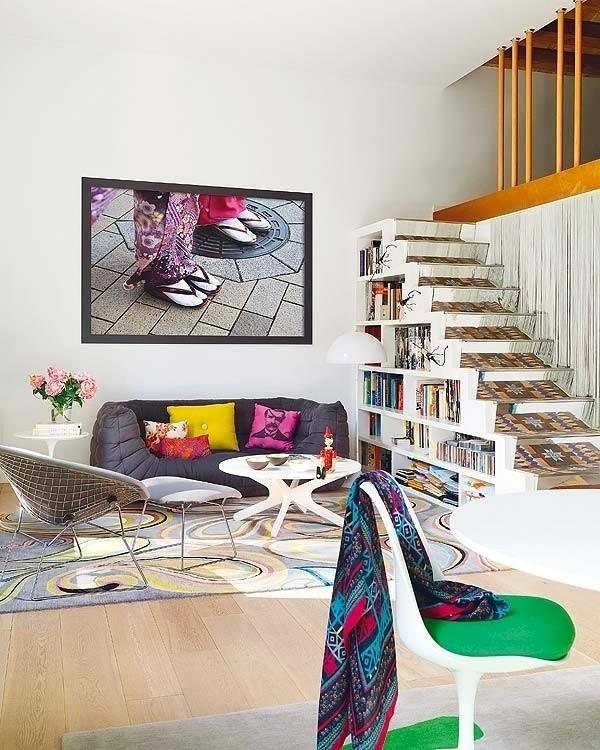 复式公寓艺术色彩设计